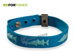 Pulseira de Silicone For Fisher Robalo
