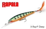 Isca Artificial Rapala X-Rap Deep XRD-10 10cm 13gr