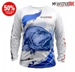 Camiseta Monster 3X Fish Collection Red Fish Masculina - Tam. P