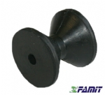 Rolo de Borracha Famit Ø 80 X 75 mm