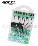Jig Head Owner Sled Head 5142 Nº 2/0 Anti-Enrosco