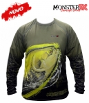 Camiseta Monster 3X NEW Fish Collection Tambaqui Masculina