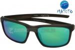 dd7cd3509 Óculos Polarizado Matuto 29196PL Preto Fosco Lente Azul Espelhada