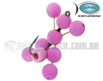 Anteninha Artificial JR Neto Pink Butterfly