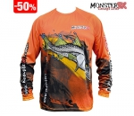 Camiseta Monster 3X Fish Collection Robalo Masculina - Tam. P